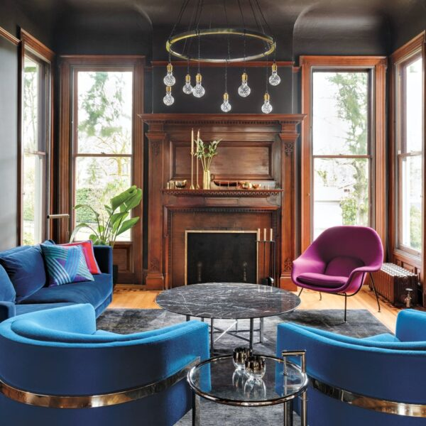 Midcentury Elements Elevate A Colorful Portland Home