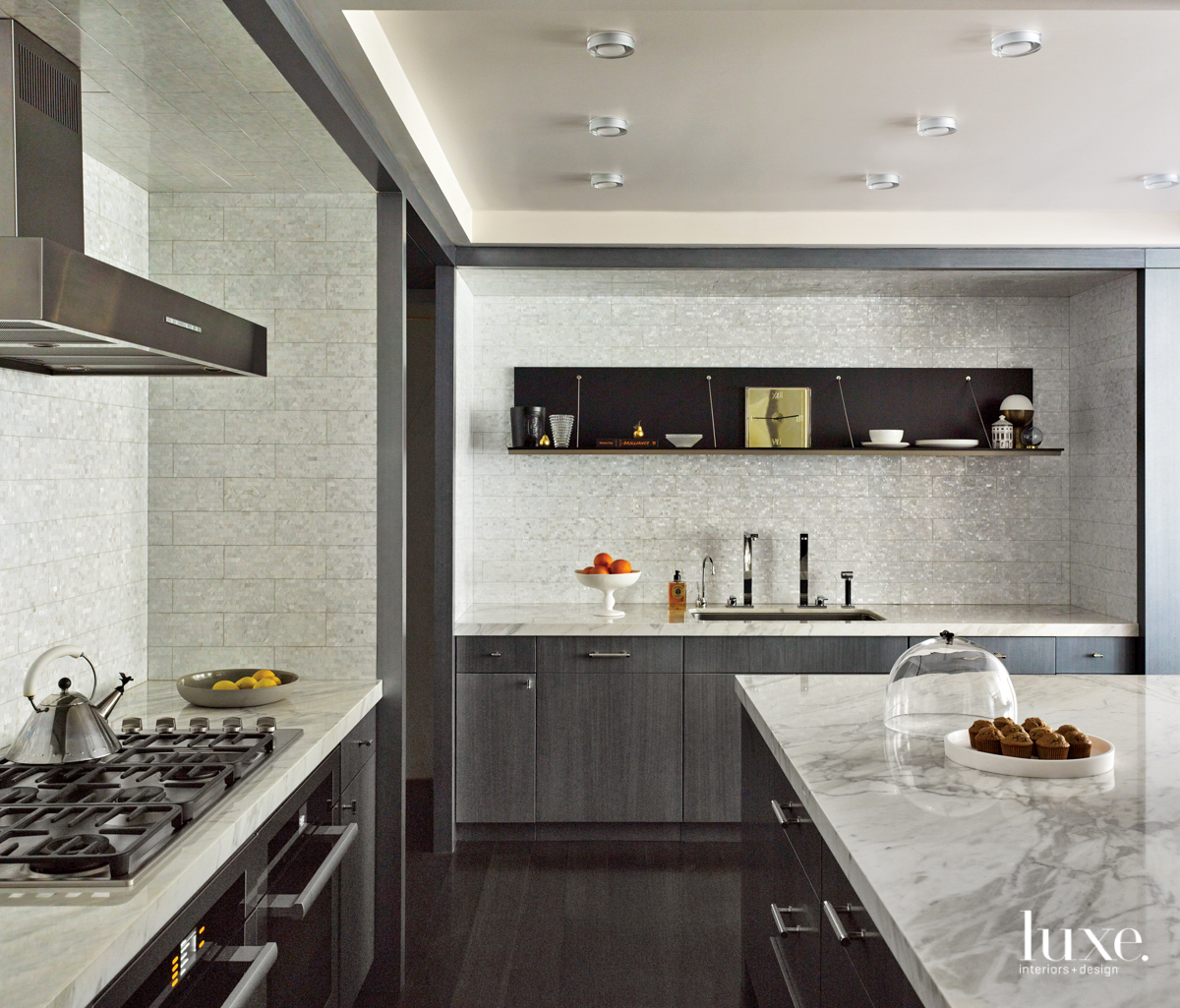 Jonathan Arnold created the cabinetry...