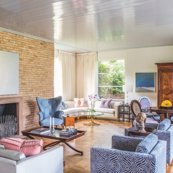 A Midcentury Houston Home Gets A Modern Makeover
