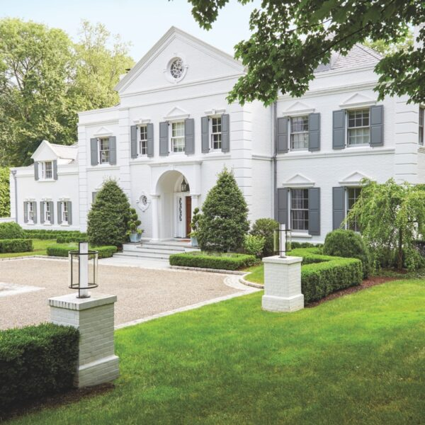 A Stately Greenwich Home Is Decidedly City Chic