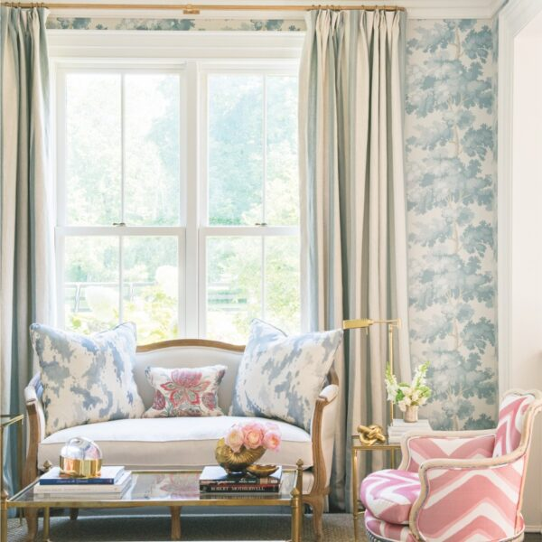 A Pastel Palette Turns A Farmhouse Into A Getaway