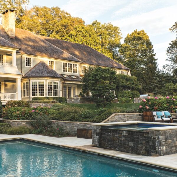 A Westport House Exudes A Welcoming, Chic Vibe