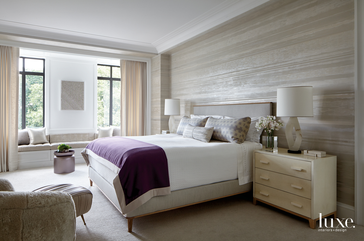 contemporary neutral bedroom beige palette