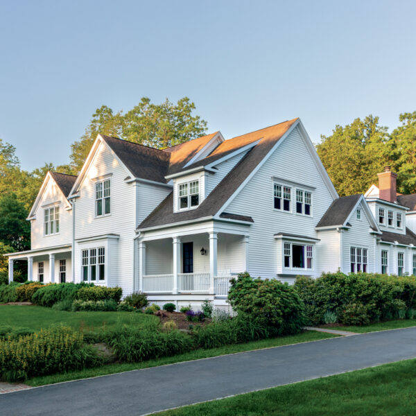 A Modern NY Farmhouse Hits The Right Notes