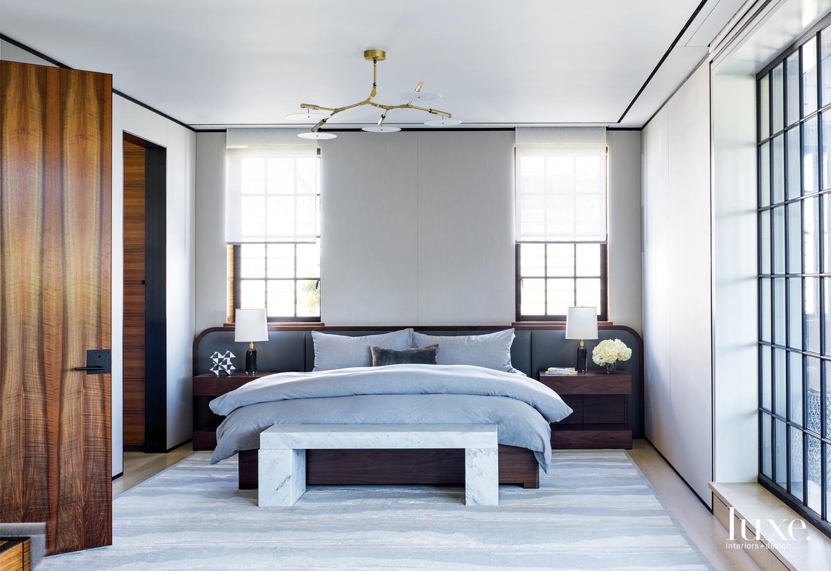 modern neutral bedroom gray palette