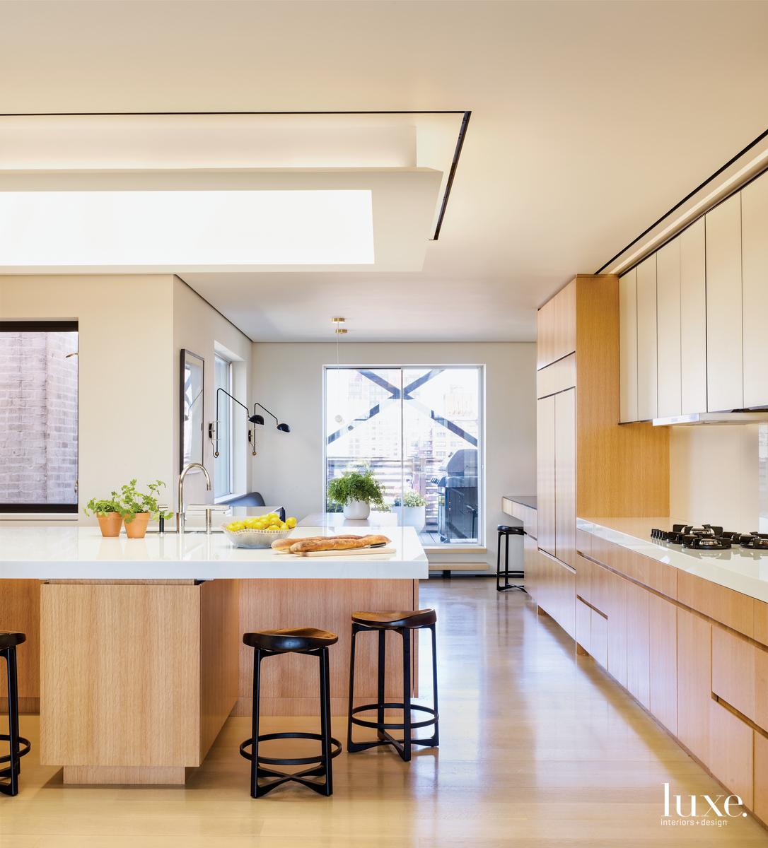 modern neutral kitchen cabientry