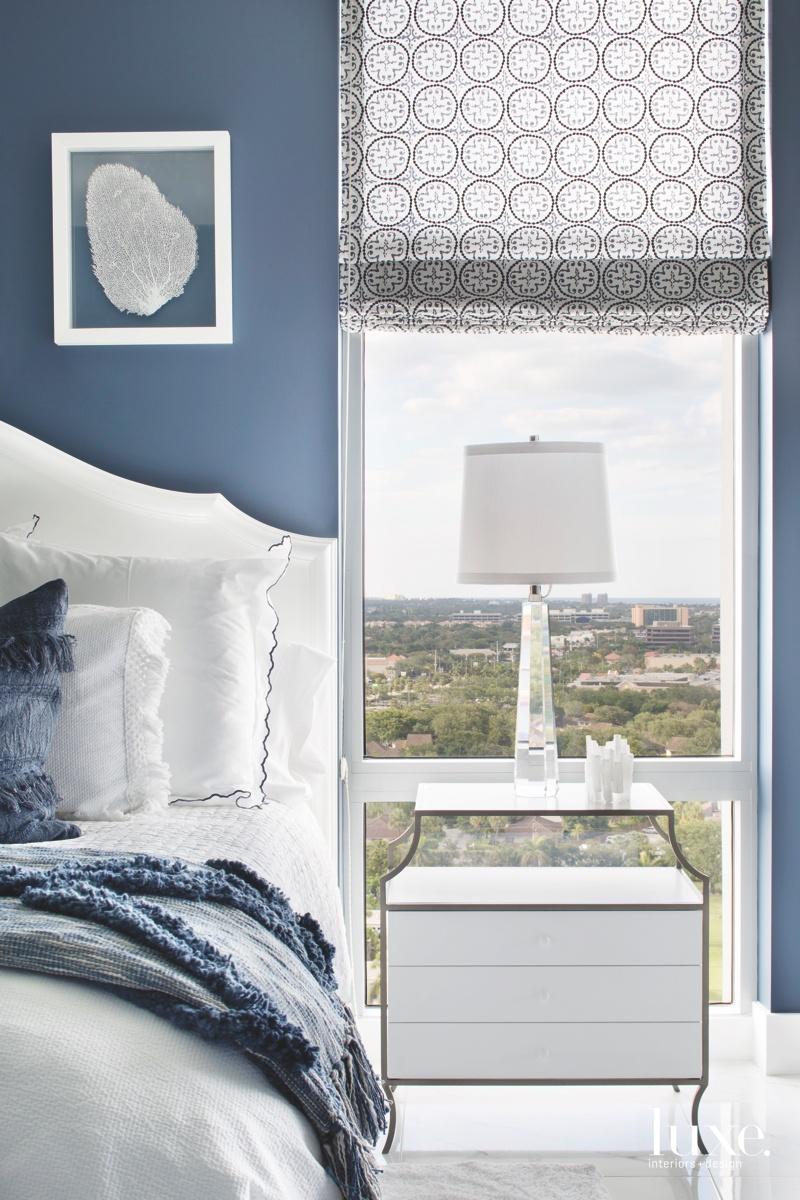 coastal bedroom indigo and white