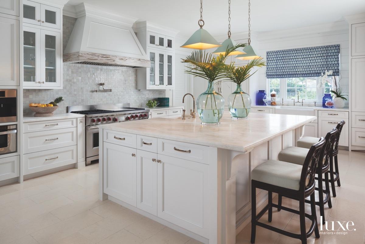 traditional white kitchen island stools