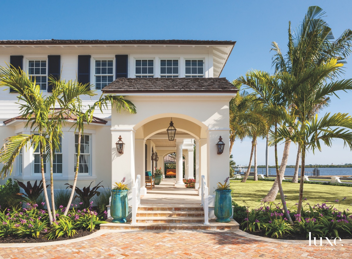 traditional exterior white
