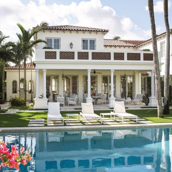 Mediterranean Meets Atlantic In A Palm Beach Home