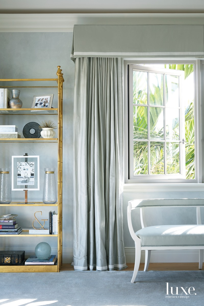mediterranean bedroom pale blue walls