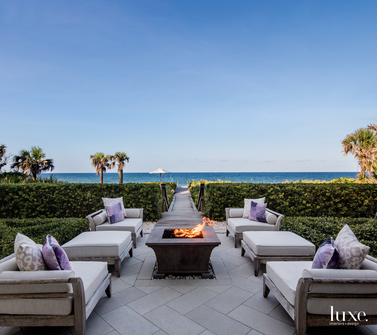 coastal exterior sitting area fire...