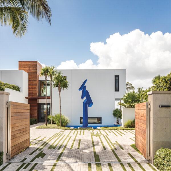 A Contemporary Home As Impressive As The Art Inside