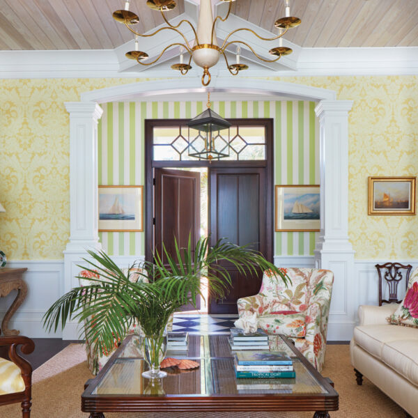 Traditional Meets Whimsical In This Stately Florida Home
