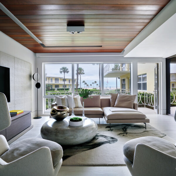 A Midcentury Fort Lauderdale Co-Op Goes Modern