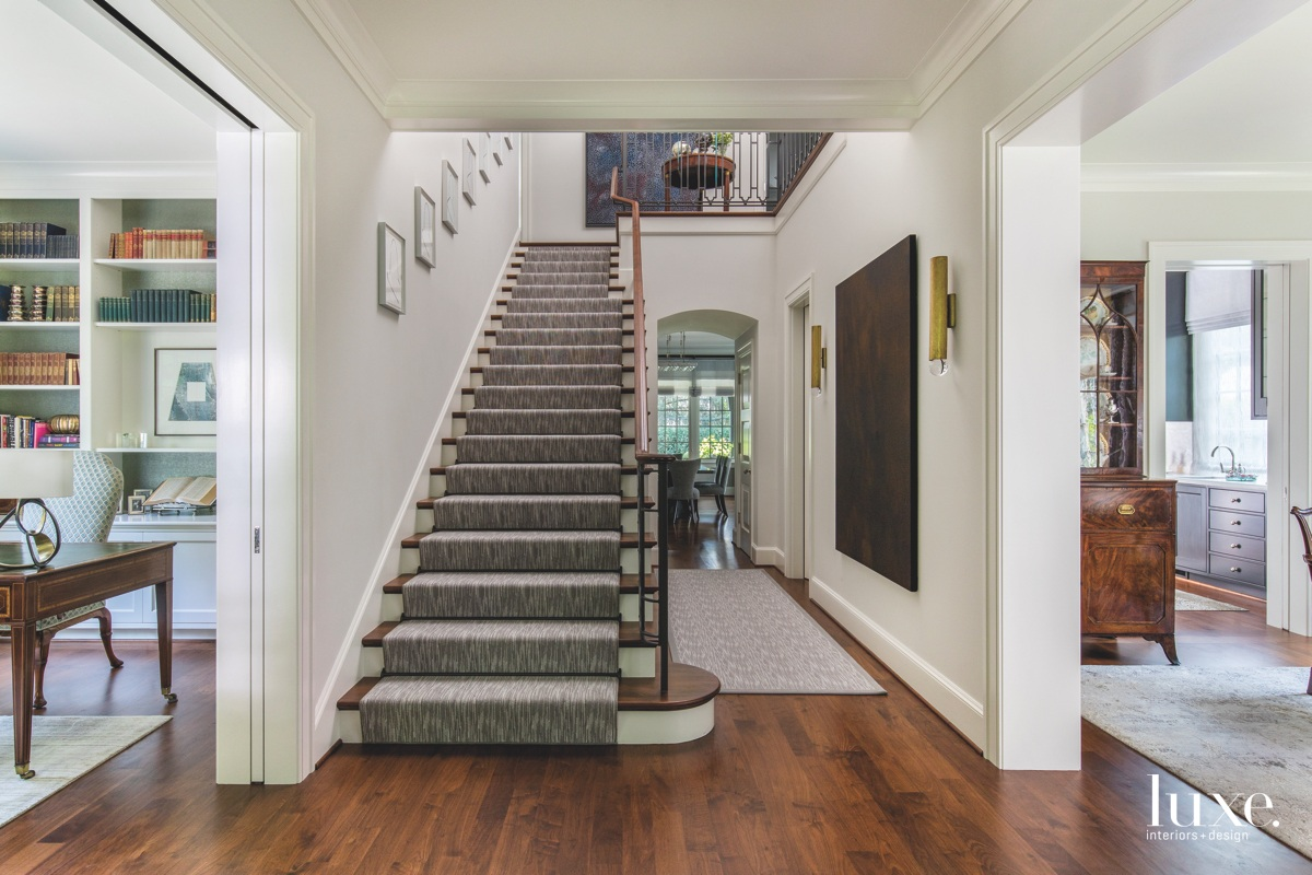 A Tudor Revival Style Home Puts Down Roots Luxe Interiors