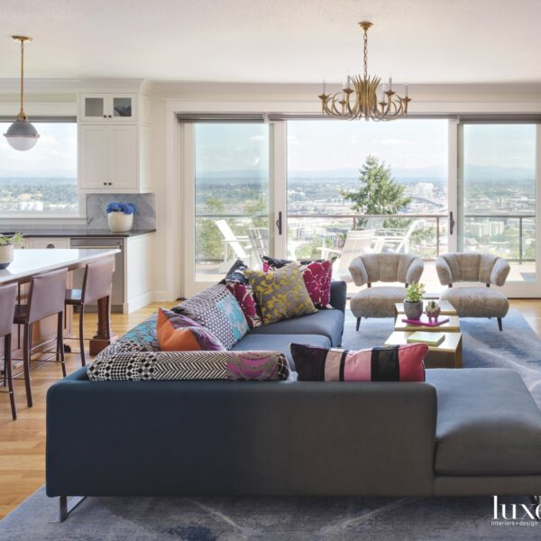 Color And Global Influences Imbue A Portland Home