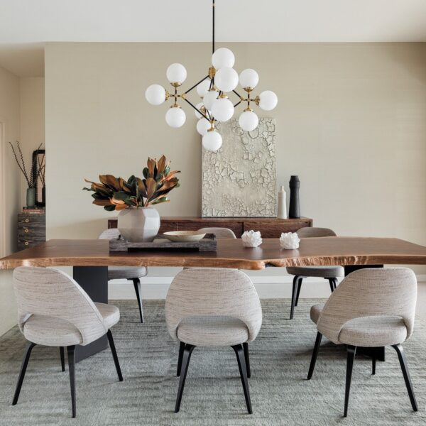 A Muted Palette Fills A Midcentury Modern Home