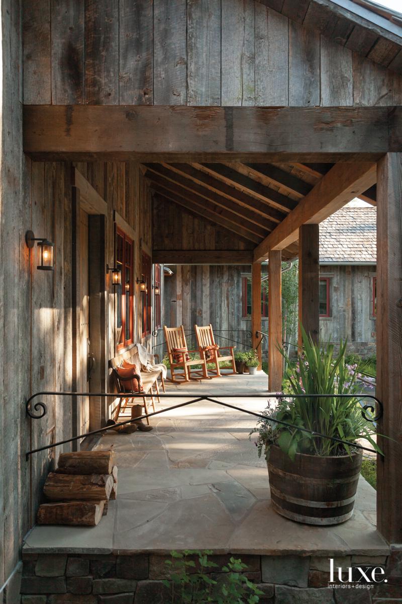 rustic porch neutral exterior