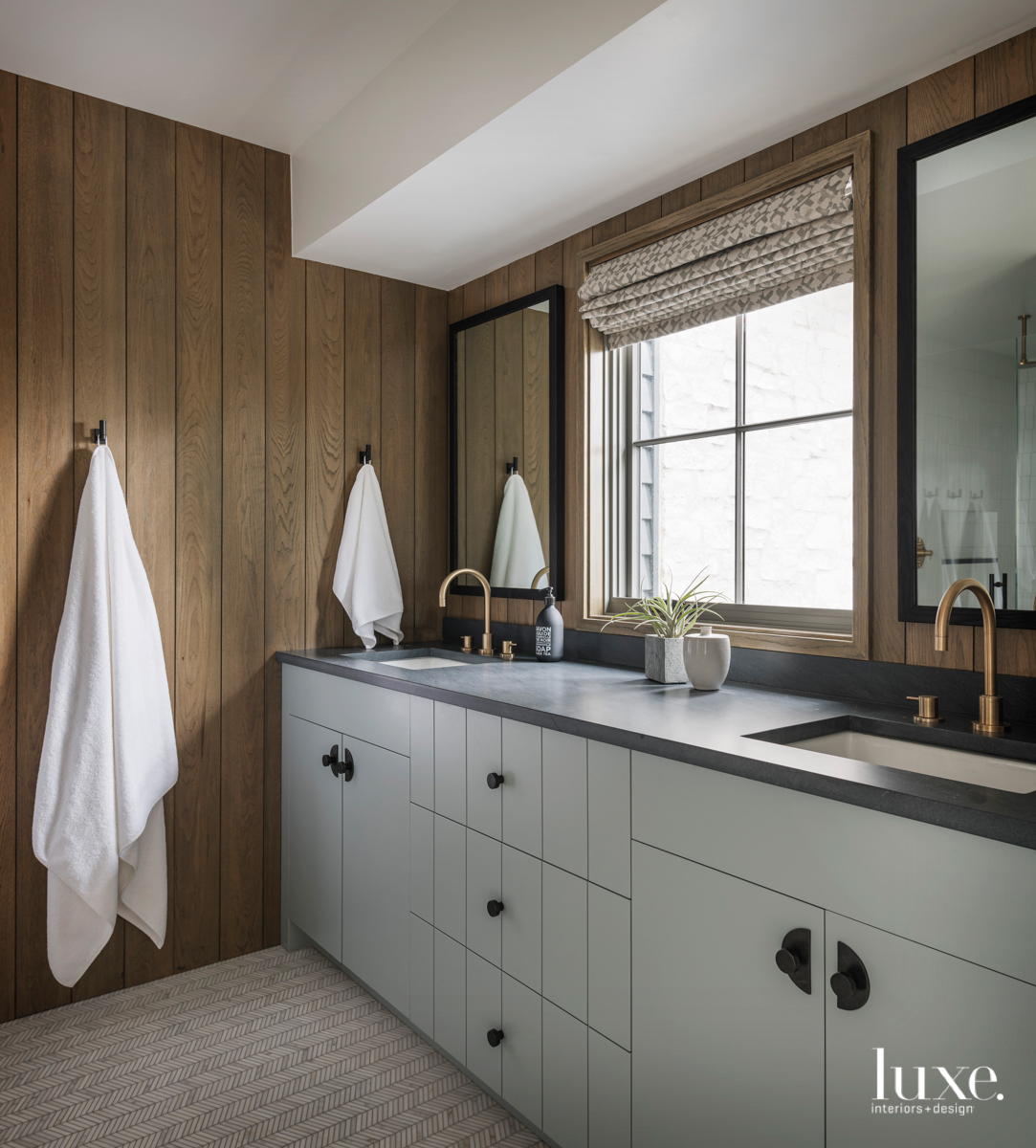 contemporary neutral gray bathroom gray...