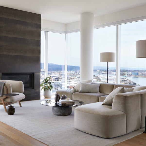 A Portland Penthouse Is Reimagined With Warm Neutrals