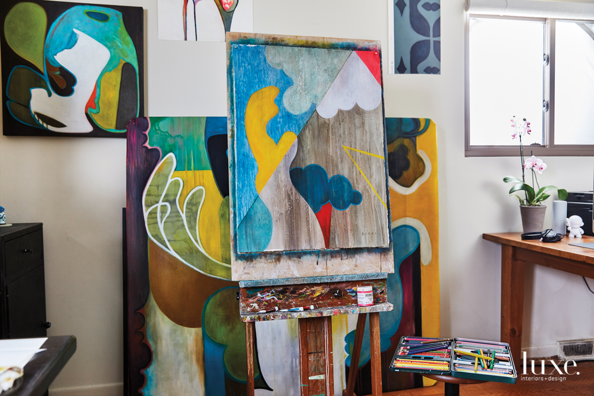 This NC Artist Marries Color & Movement In Murals And More