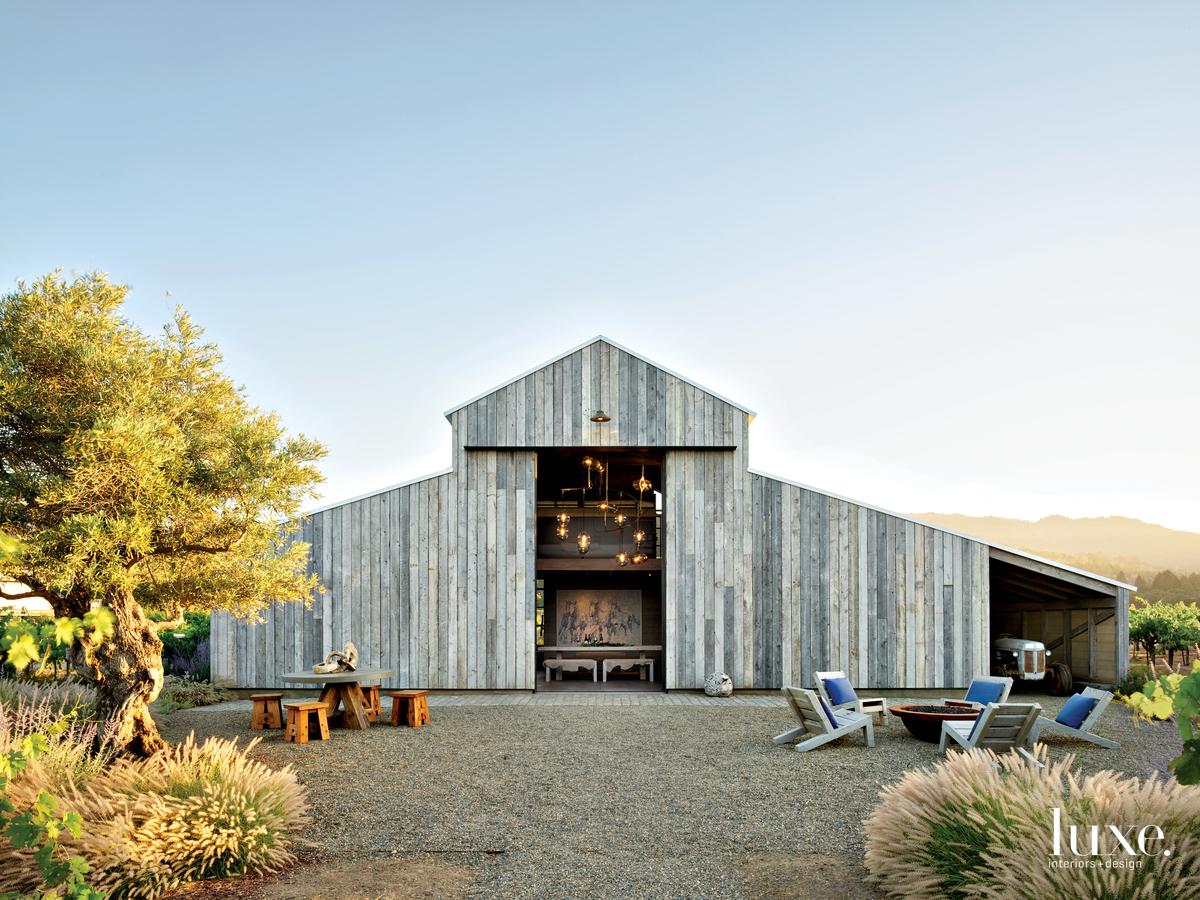 rustic exterior barn