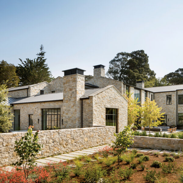 A Home On The SF Peninsula Reflects Old And New