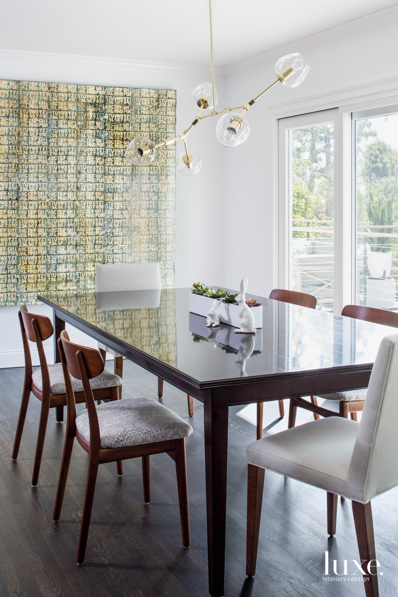 transitional neutral dining room white...