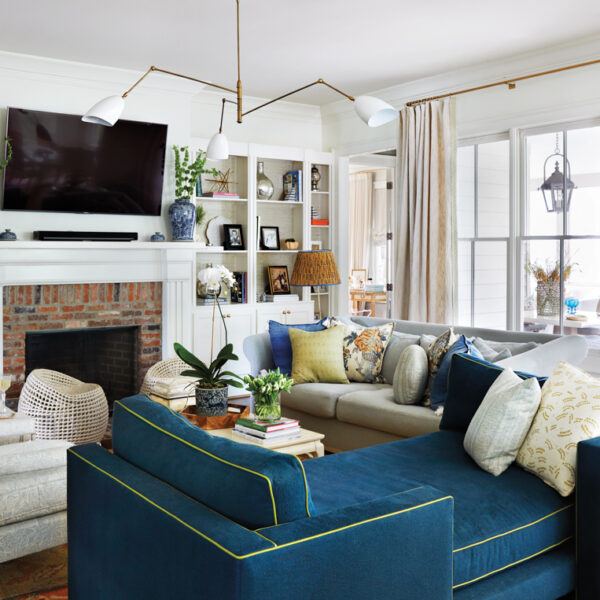 A Nashville Designer Adds Funk To Her Traditional Home