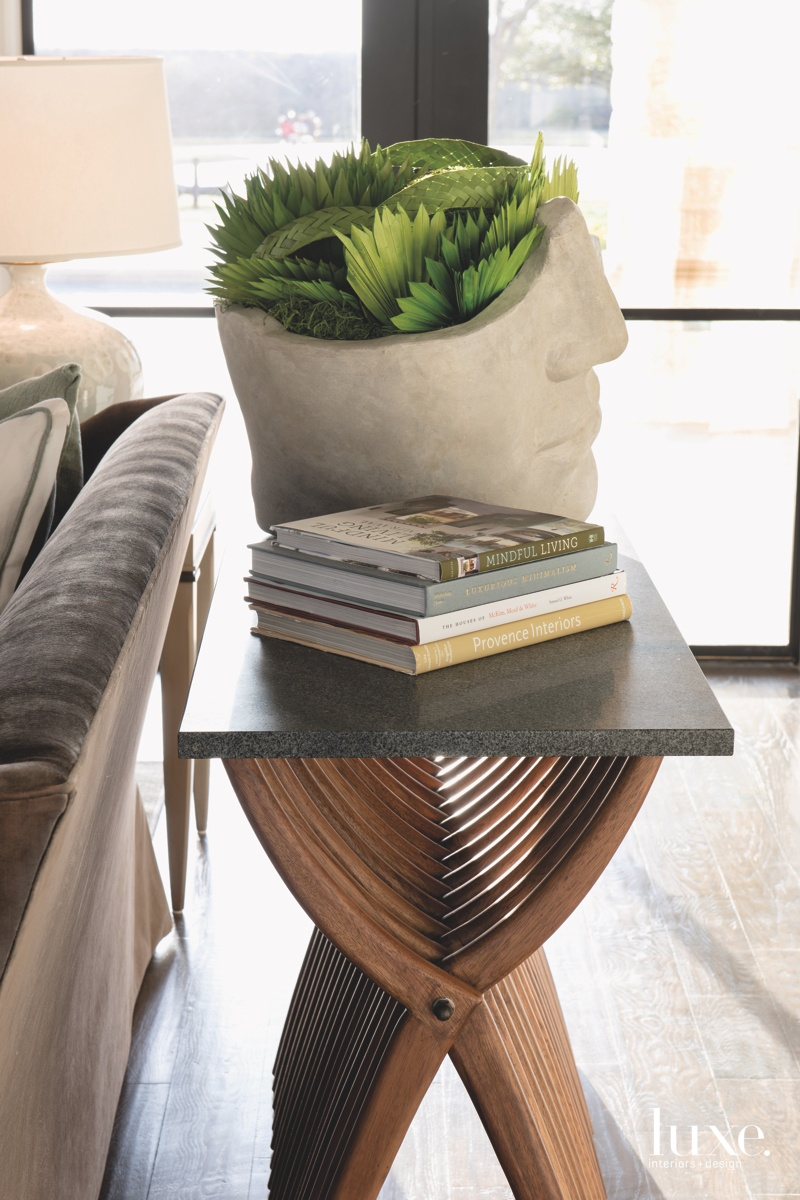 farmhouse living room console