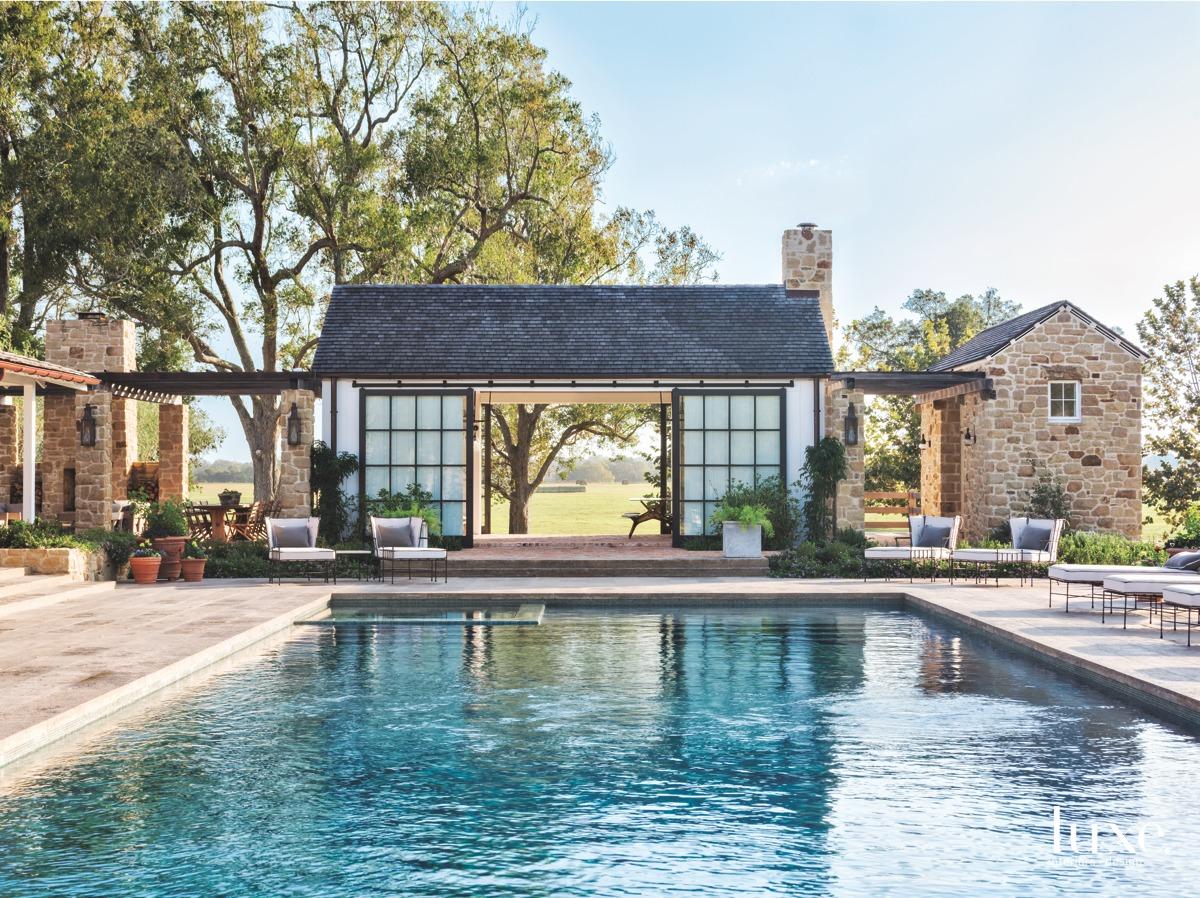 farmhouse outdoor pool