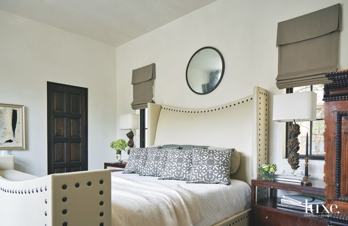 mediterranean neutral bedroom