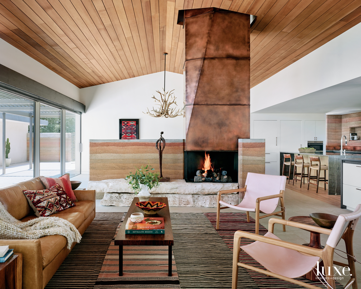modern living room neutral palette...