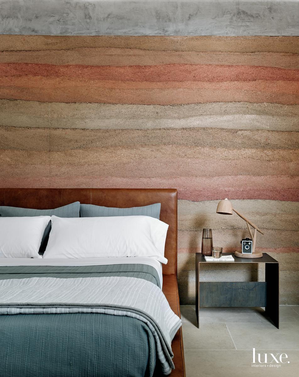 kamar tidur dinding tanah