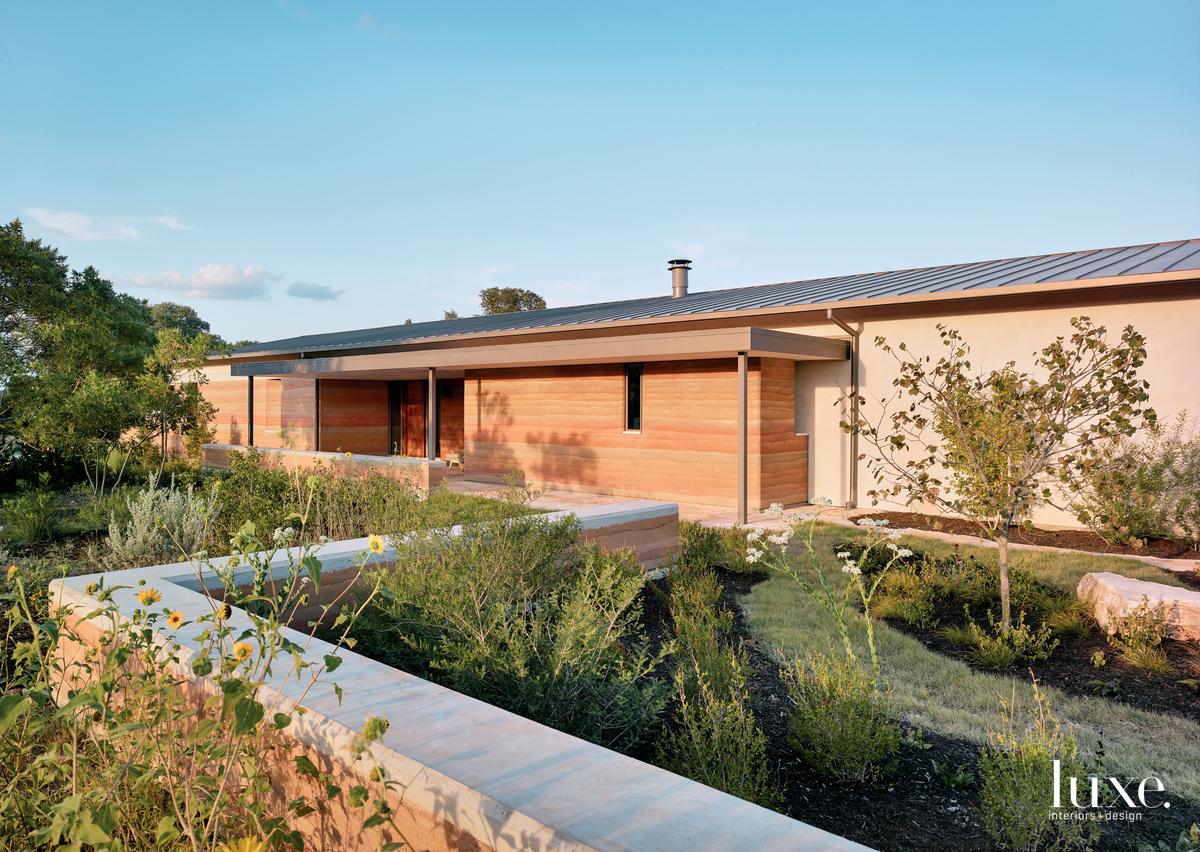 modern exterior landscape