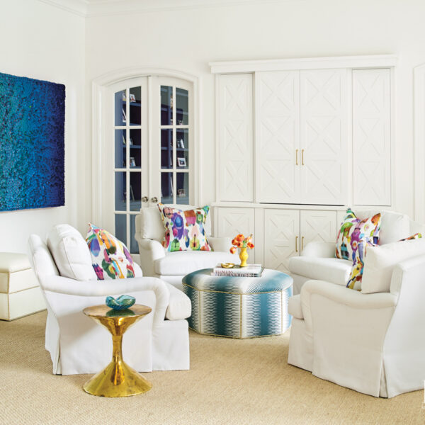Luxury, Playfulness Meet In A Renovated Houston Home