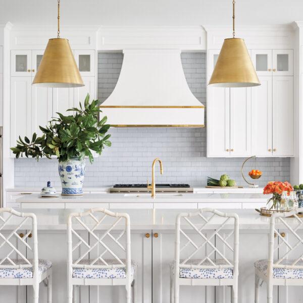 Sky Blue Influences A Texas Family Home's Palette