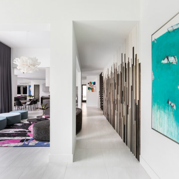Editing A Houston Home's Layout Yields A Sleek Zen Vibe
