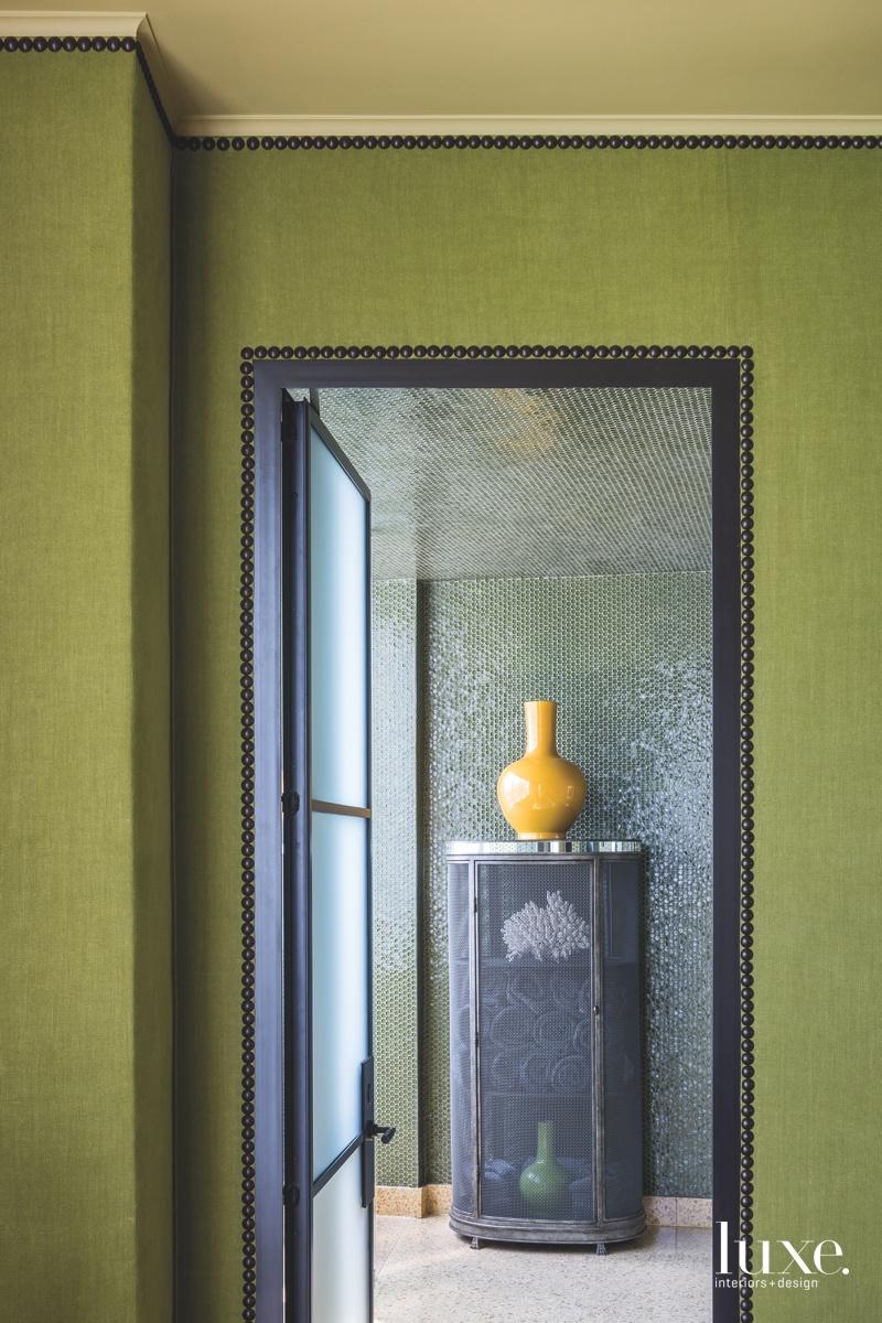 contemporary study hall bathroom glass...