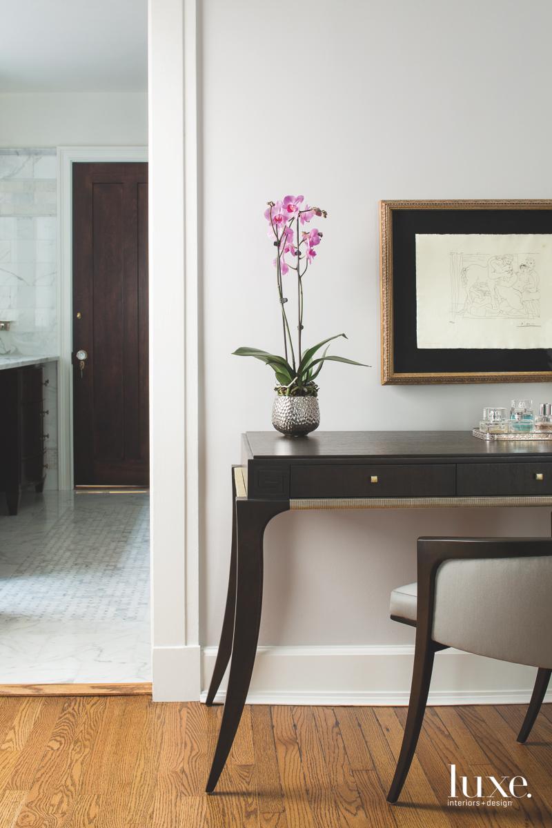 transitional master bedroom vanity