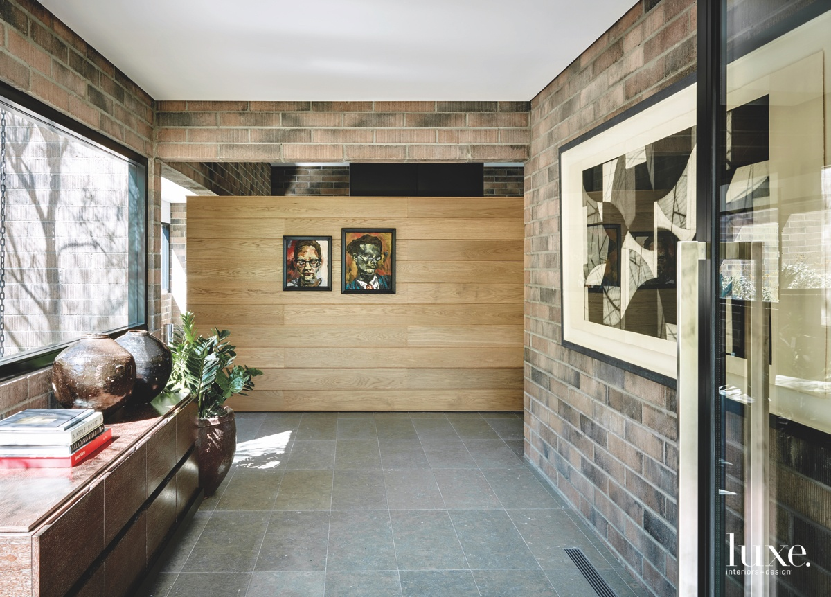 contemporary foyer paintings