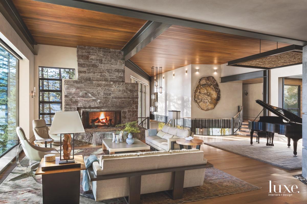 contemporary living room neutral piano...