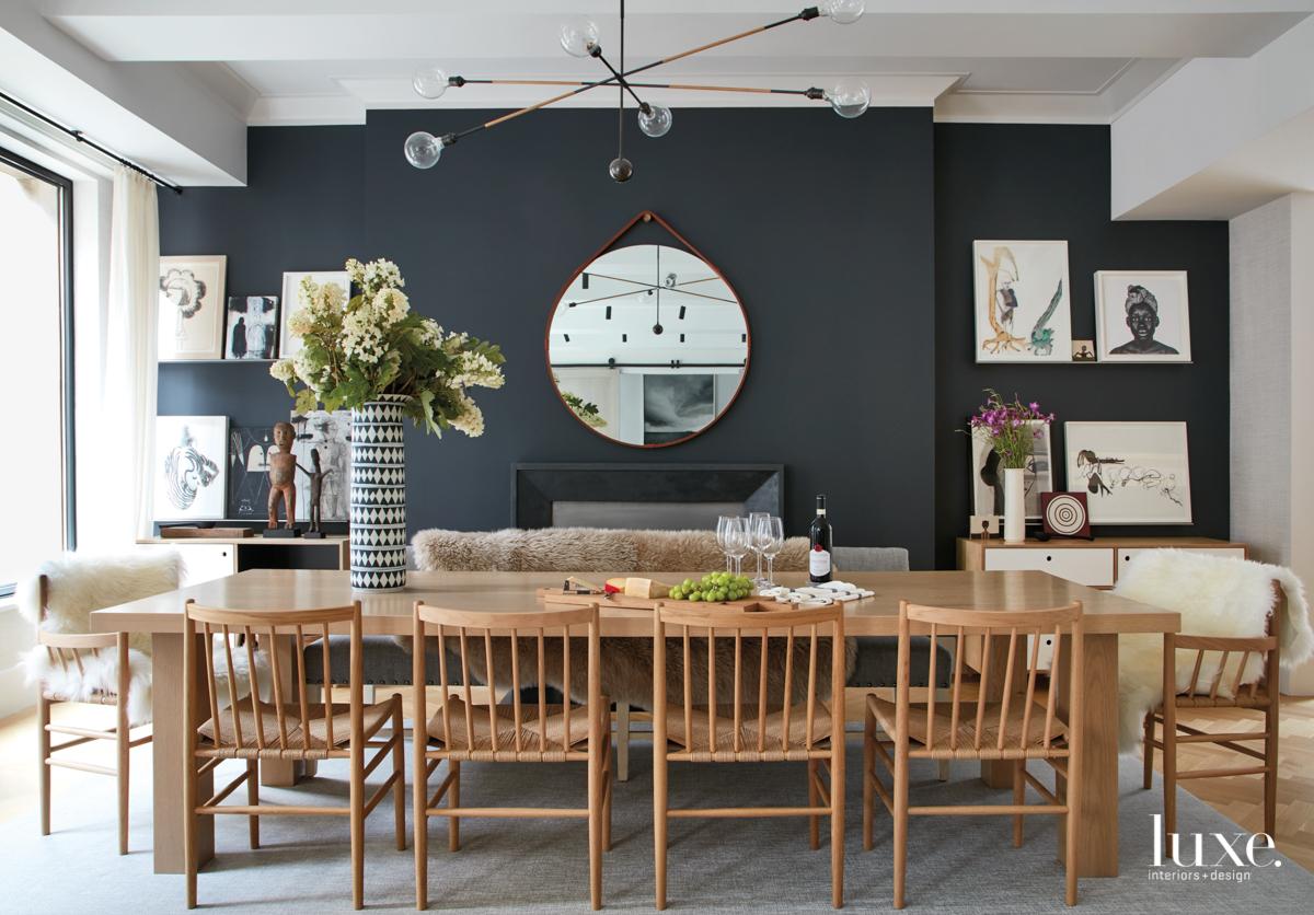 modern neutral dining room dark...