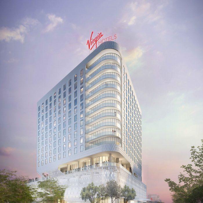 Rendering of Virgin Hotels Dallas