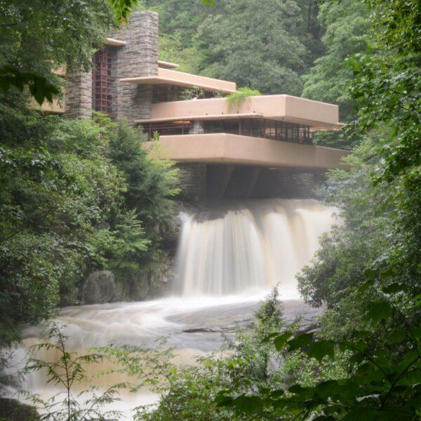 Flood Hits Frank Lloyd Wright's Fallingwater