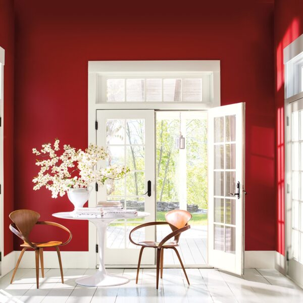 Benjamin Moore's 2018 Color Of The Year Is Red-Hot