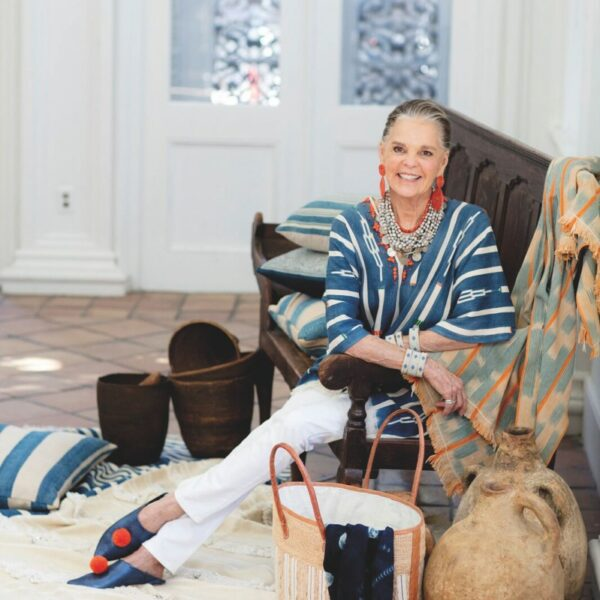 8 Chic Indigo & White Pieces Inspired By Ali MacGraw
