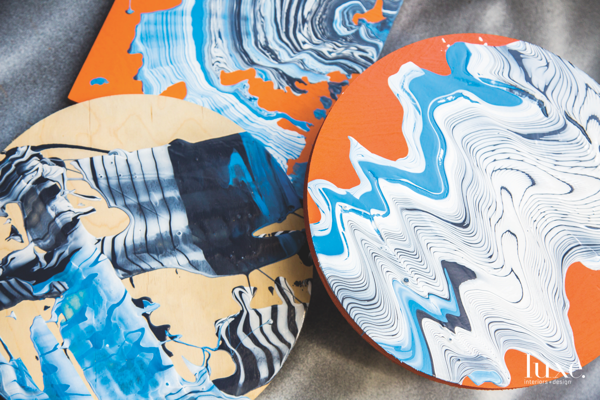 Color And Pattern Collide In Douglas Hoekzema's Murals