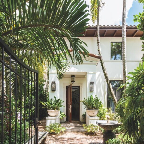 Tuscan Details Abound In A Worldly South Florida Villa